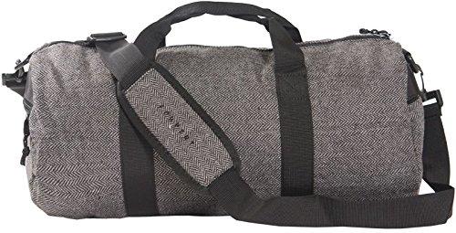 FORVERT Unisex Bag Bank praktische Sport- und Reisetasche mit abnehmbarem Tragegurt (Flannel Grey)