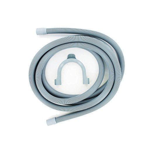 Paxanpax Ablaufschlauch und Haken, 4 m Länge, 19 mm und 22 mm Armatur