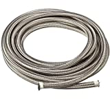 20 Ft 6AN AN6 (3/8') Universal Braided Stainless Steel CPE Oil Fuel Gas Line Hose
