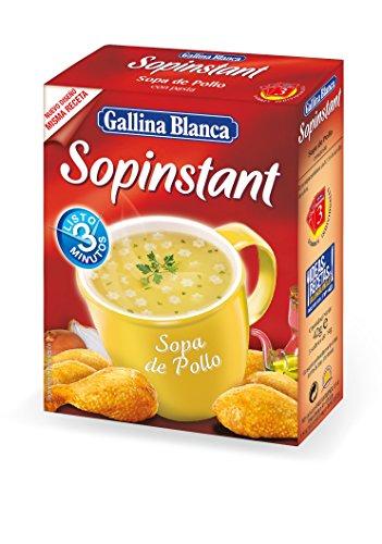 Gallina blanca sopinstant sopa de pollo con pasta(3x14g)