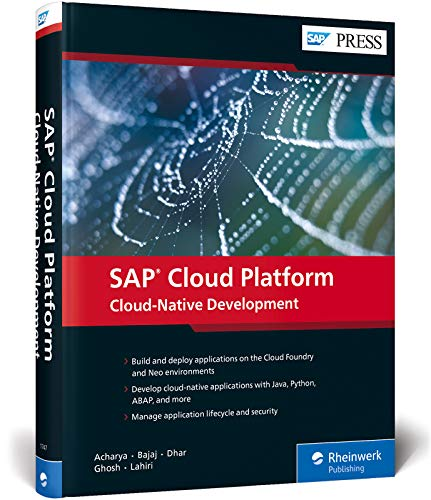 SAP Cloud Platform: Cloud-Native Development (SAP PRESS: englisch)
