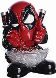 Rubie's Deadpool Small Candy Bowl Holder, H40 cm, Süßigkeitenspender, Marvel Universum, Superhelden Figur, Dekoration mit stabilem Stand