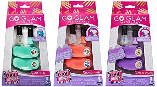 Cool Maker, Grande Recharge DAYDREAM GO GLAM Nail Stamper - possibilité de faire jusqu'à 50 ongles - Modèle aléatoire
