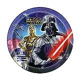 Star Wars 9 piatti per feste, 8 pezzi