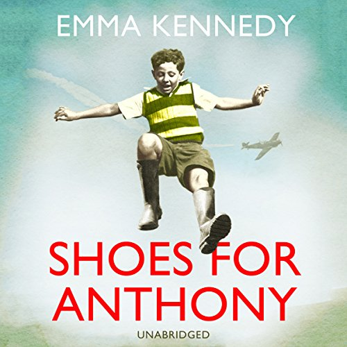 Shoes for Anthony audiobook cover art