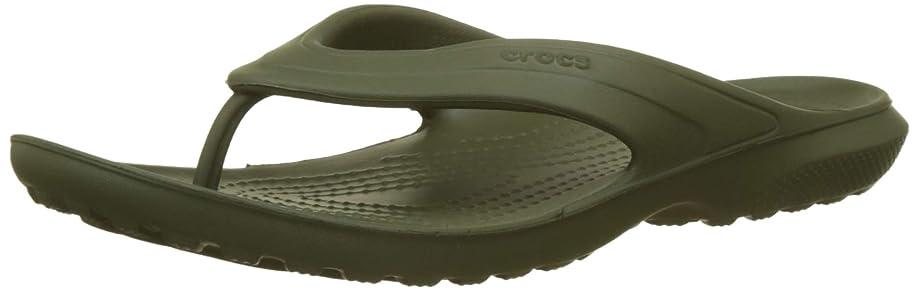 Crocs Men's and Women's Classic Flip Flop Sandal | Casual Lightweight Beach or Shower Shoe