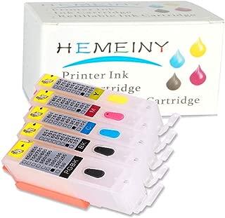 5pcs PGI-250 CLI-251 Empty Refillable Ink Cartridge MG5420 IP7220 MX722 MX922 MG5520 MG6420 MG5620 MG6620 MG5522 iX6820 Printers Empty Ink Cartridge