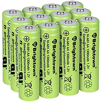 aa nimh rechargeable batteries