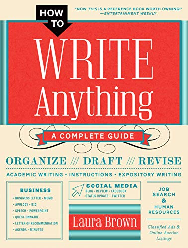 How to Write Anything: A Complete Guide (English Edition)