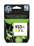 HP 933 XL CN056AE Cartuccia Originale per Stampanti a Getto di Inchiostro, Compatibile con OfficeJet 6100, 7610 e 7612; HP OfficeJet 6600, 6700, 7110 e 7510, Giallo