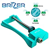 4. Brizer Oscillating Lawn Sprinkler, Waters 3,000 ft. of Lawn Care, Water Hose for Grass, Sprinkler for Yard, Sprinklers Oscillating, Garden Hose Nozzle, Water Sprinkler for Lawns (Aqua)