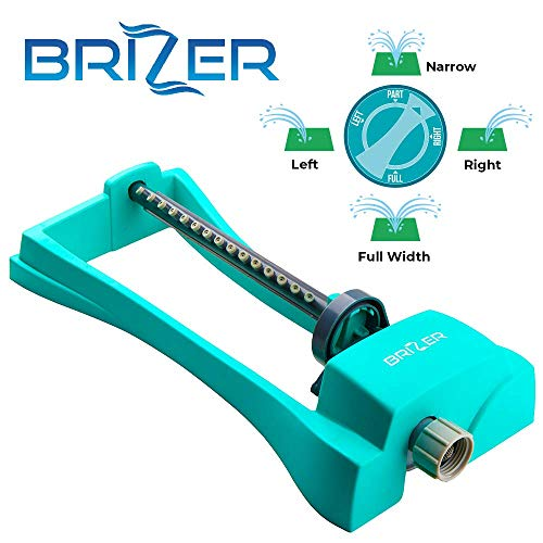 Brizer Oscillating Lawn Sprinkler, Waters 3,000 ft. of Lawn Care, Water Hose for Grass, Sprinkler for Yard, Sprinklers Oscillating, Garden Hose...