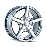 Sacchi S72 272 Wheel with PVD 2 Chrome Finish (16x7'/10x112mm)