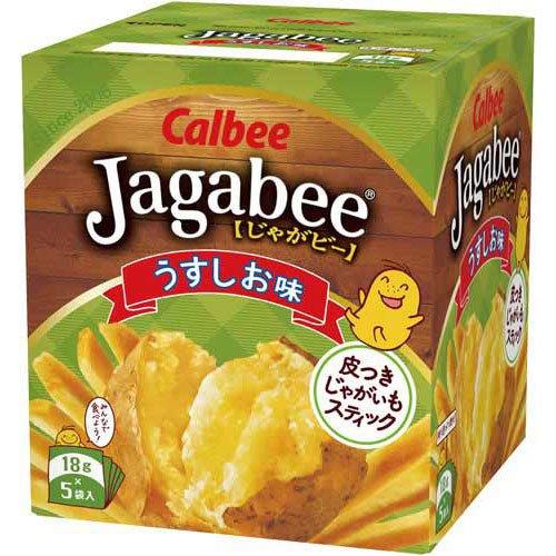 カルビー ジャガビー うすしお味 80g 1セット 5個