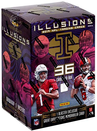 2019 Panini Illusions NFL Football trading cards Blaster box