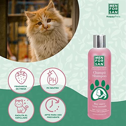 MENFORSAN champú muy suave para gatos bote 300 ml