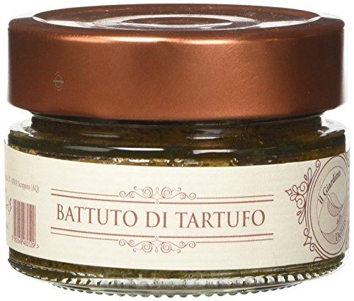 il Giardino delle Delizie Battuto di Tartufo per Bruschette, Condimento Pasta e Mille Ricette - 110 gr