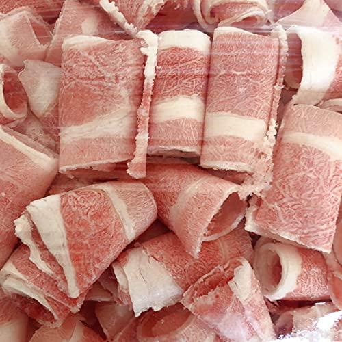 牛肉巻 しゃぶしゃぶ用 300g 冷凍食品 牛肉卷 牛肉のスライス 薄切りス