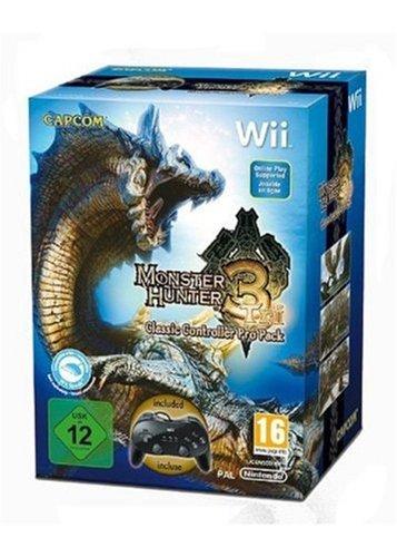 Monster Hunter Tri inkl. Classic Controller Pro
