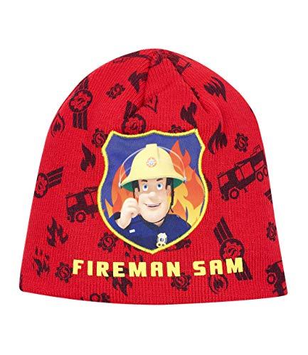 Feuerwehrmann Sam Jungen Mütze Rot 54