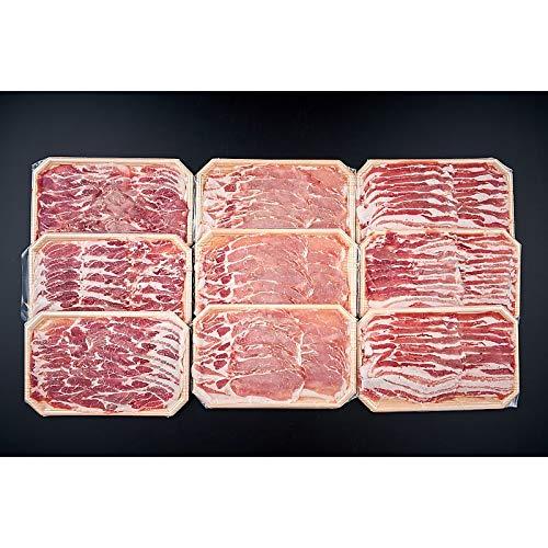 ( 産地直送 お取り寄せグルメ ) 岩手佐助豚 豚しゃぶセット 1.8kg