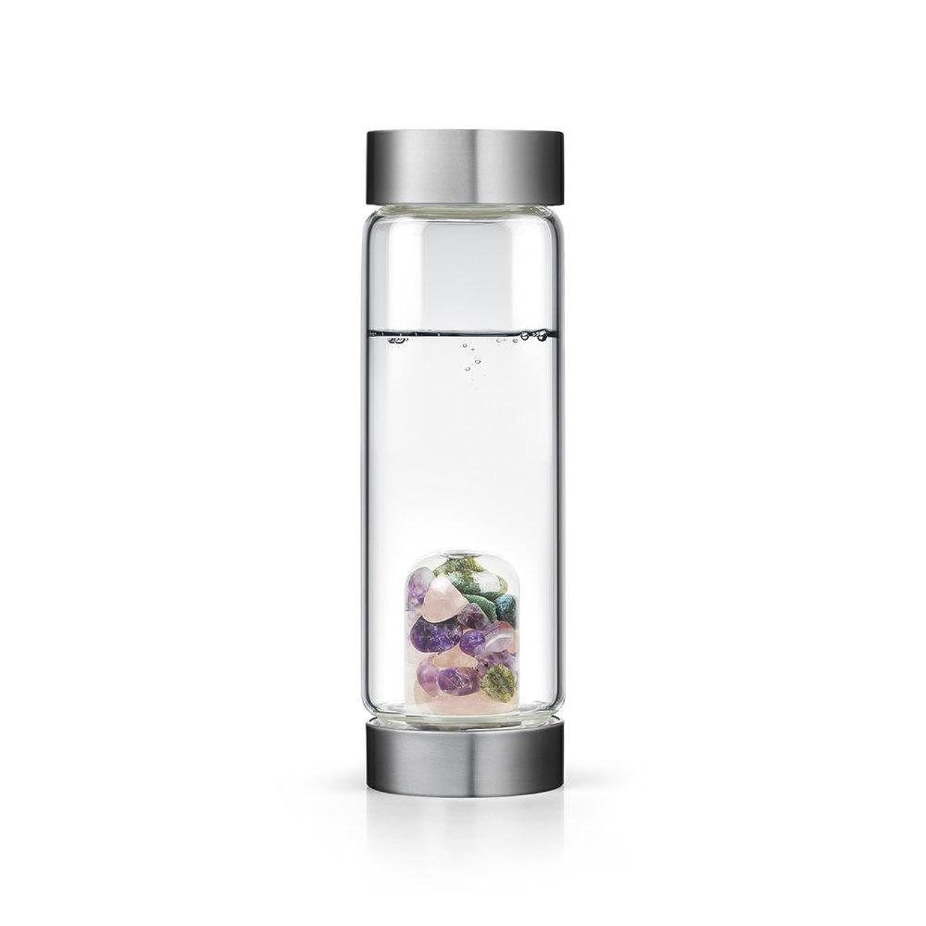 うれしい漏斗情緒的Beauty gem-waterボトルby VitaJuwel W / Freeカリフォルニアホワイトセージバンドル 16.9 fl oz