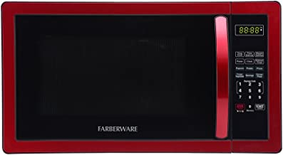 red microwave for sale