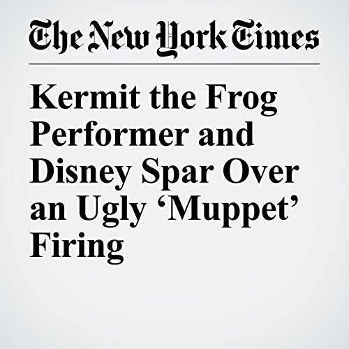 Kermit the Frog Performer and Disney Spar Over an Ugly 'Muppet' Firing copertina
