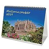 Mallorcazauber Mallorca - Calendario de mesa 2019, formato DIN A5, vacaciones, español, mar
