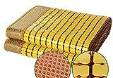 Rattan Cooling Sommerschlafunterlage, Sommerschlafmatte Bambuskühlmatte Home Textile Rattanmatte...