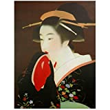 Oriental Furniture Geisha Canvas Wall Art