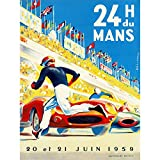 Bumblebeaver Sport Motor Race 24 Hour LE Mans France 30X40