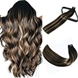 Best Tape In Hair Extensions - 22In Tape In Hair Extensions Natural Black to Review