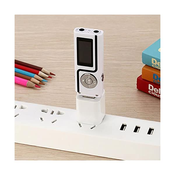 MP3 Music Media Player Portable USB Stick Shape LCD Screen Dual Audio Ports Gift 4