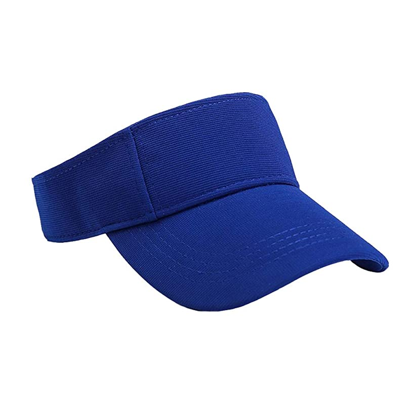 願う軍艦獲物Merssavo ユニセックスサマースポーツキャップ、サン帽子レディーステニスゴルフバイザーメッシュ野球帽、調節可能な屋外オープントップヘッドトラベルハイキング帽子、ブルー