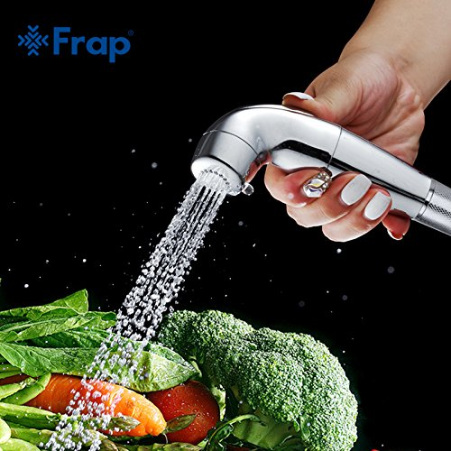 G0000D - Grifo de mano para bidé, ducha Shattaf con boquilla de pulverización de botón de presión para baño