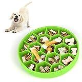 Comedero Anti-glotonería, Silicona Comedero Glotones Slow Feed para Perros...