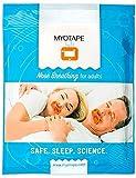 Tiras bucales de MYOTAPE | Promueve la respiración nasal, mejora la calidad del sueño y reduce la respiración por la boca y los ronquidos [tapón de ronquido, tira bucal en lugar de tira nasal]