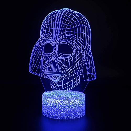 3D Star Wars Lamp-Star Wars Gifts-Star Wars Light-Star Wars Lamp& Perfect Gifts for Kids and Star Wars Fans-KE-7