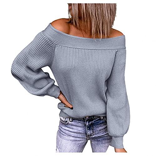 Esque Jerseys De Mujer,Jersey Mujer, CáRdigan Rayas Punto con Cuello En V para Mantener El Calor Exterior Suelto,Cardigan BotóN Caliente Suelta SuéTer Abrigo,Informal,Elegante