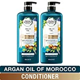 Herbal Essences, Repairing Argan Oil Of Morocco Conditioner With Natural Source Ingredients, Color Safe, BioRenew, 20 Fl...
