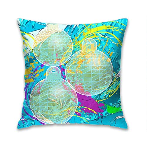N\A Fodere per Cuscini Decorativi Fodere per Cuscini Frozen Bird Outdoor Throw Pillows per Sedia