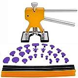 GLISTON Dent Puller Tools, 31pcs Paintless Dent Repair Tools Kit Paintless Dent...