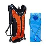 G4Free Paquete de Hidratación Deportiva con Vejiga de Agua de 3L Adecuado para Ciclismo Senderismo Correr Caminar
