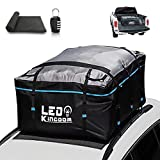 LEDKINGDOMUS Rooftop Cargo Bag, Waterproof 19cft Truck...