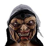 Halloween Scary Realistic Mask Orrore Raccapricciante Sanguinosa Zombie Terrore Evil Cosplay Decorazione Morta Cattivo novità Maschere da Travestimento Adulti Burlesque Film Puntelli,Wizard
