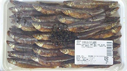 冷凍 子持公魚山椒煮 400g 前菜八寸 ワカサギ わかさぎ 子持わかさぎ 甘露煮
