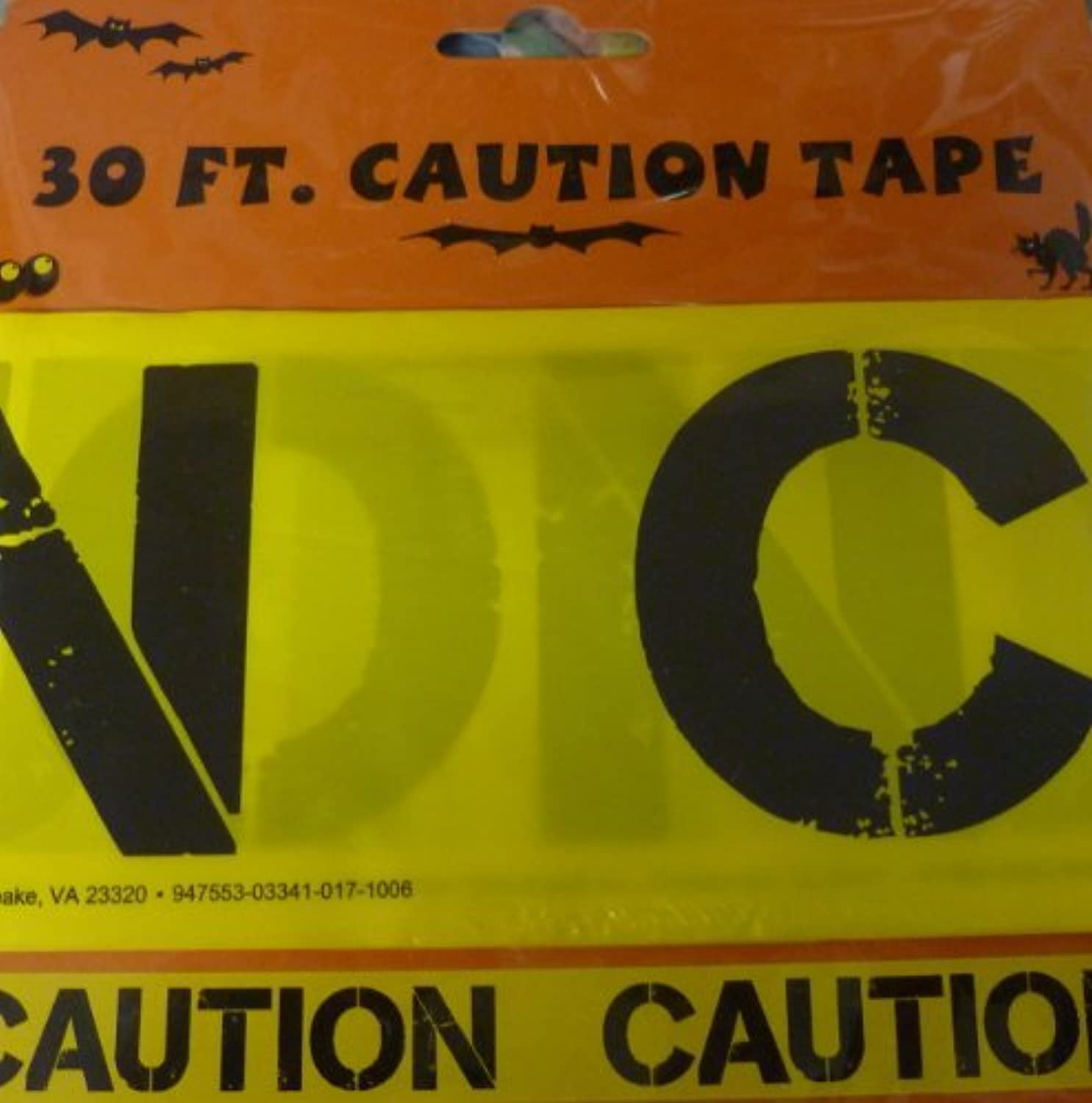 Halloween Caution Tape  CAUTION (30 Feet) by Halloween Caution Tape