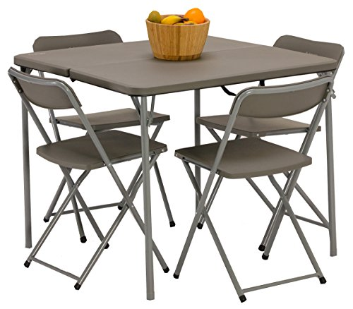 Vango Woodland tafel en stoel set, Grey, Std
