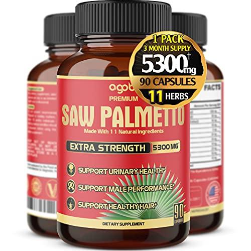 Premium Saw Palmetto Capsules - Equivalent To...